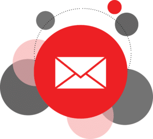 email, icon, button